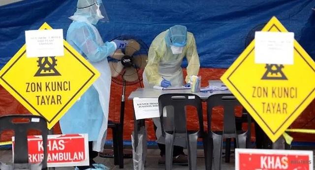 Malaysia có 235 ca mắc mới, 7 nhân viên cung điện hoàng gia nhiễm virus - 1