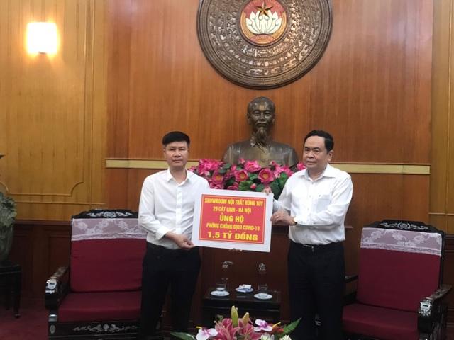 Showroom Nội thất Hùng Túy 20 Cát Linh Hà Nội ủng hộ 1,5 tỷ đồng phòng chống dịch Covid-19 - 1