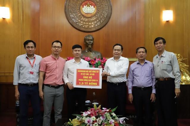 Showroom Nội thất Hùng Túy 20 Cát Linh Hà Nội ủng hộ 1,5 tỷ đồng phòng chống dịch Covid-19 - 2