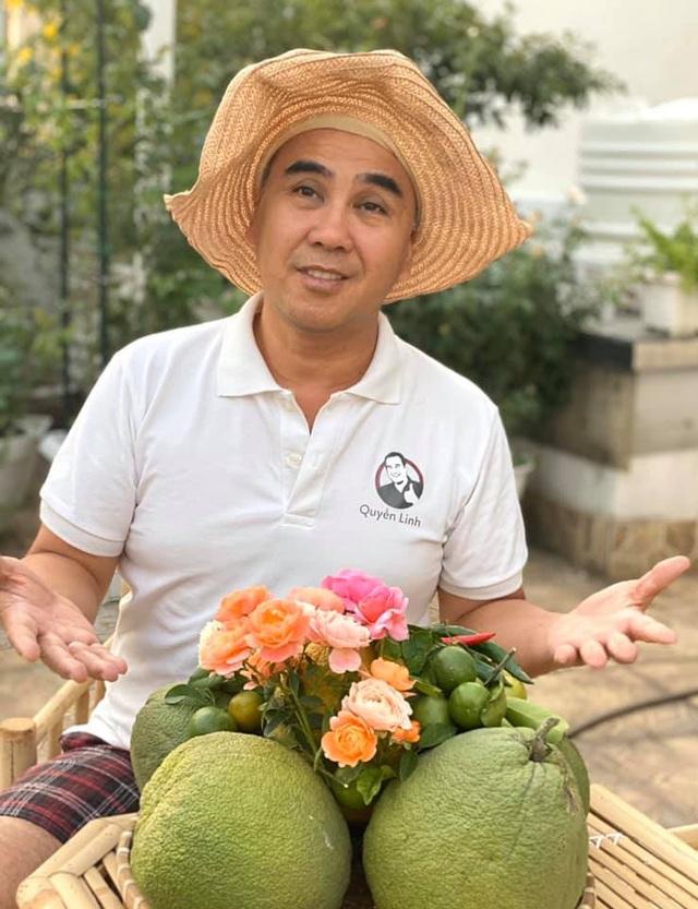 Đã mắt với khu vườn sai trĩu quả, ngập hoa của gia đình MC Quyền Linh - 3