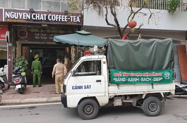 Công an hối hả đi vận động, hàng loạt quán cà phê ở Hà Nội đóng cửa - 3