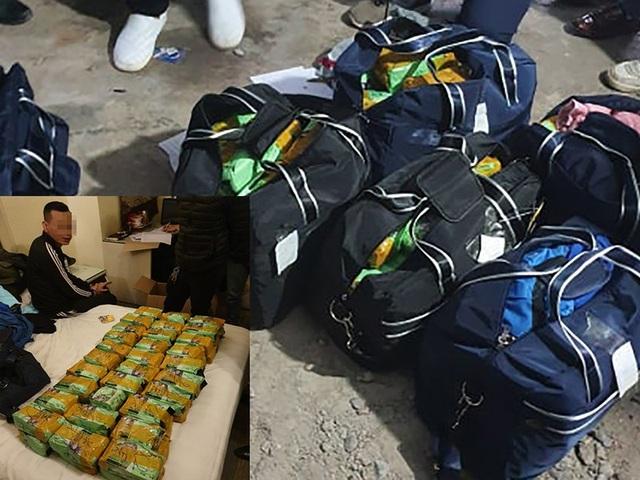 260 kg ma túy trong bãi rửa xe ở Hà Nội - 1