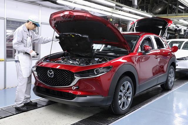 Mazda tạm dừng sản xuất tại nhiều nhà máy  - 1