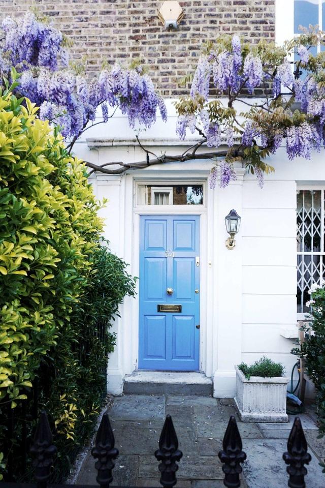 Những biệt thự phủ kín sắc tím hoa tử đằng đẹp như cổ tích ở Anh - 6