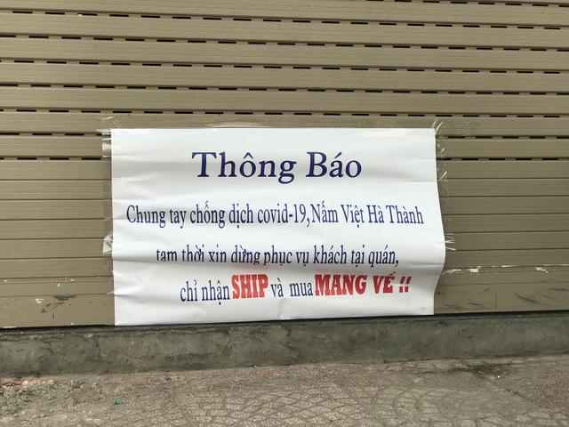 Tránh dịch Covid-19, hàng quán Hà Nội đồng loạt đóng cửa, chỉ nhận ship  - 9