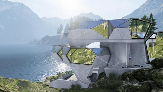 Ngôi nhà có kiến trúc đặc biệt bảo vệ con người khỏi virus corona - 3