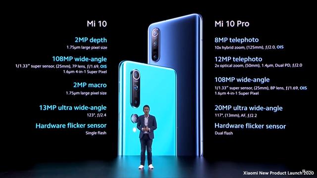 Xiaomi ra mắt 3 phiên bản Mi 10 quốc tế, camera 108 MP,  có 5G - 2