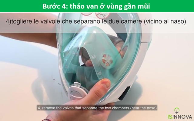 Kỹ sư Ý biến mặt nạ lặn thành mặt nạ dưỡng khí phục vụ chống dịch Covid-19 - 7