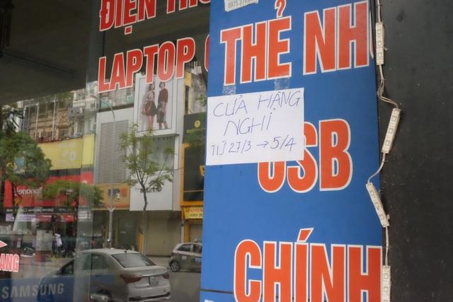 Hà Nội: Cửa hàng điện thoại ngừng kinh doanh, khó khăn nối tiếp khó khăn - 14