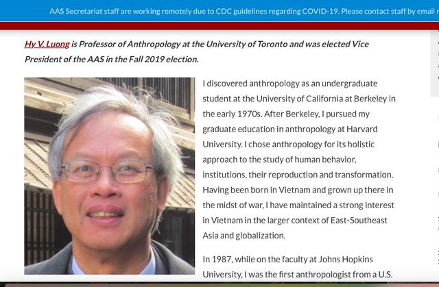 Một GS người Việt trở thành Phó Chủ tịch Hiệp hội Nghiên cứu châu Á - 1