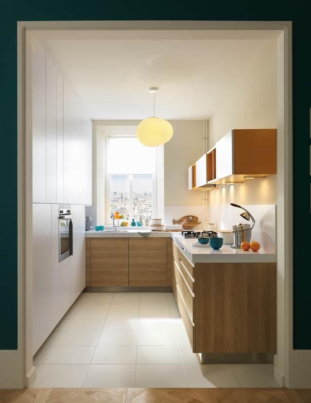 Tuyệt chiêu thiết kế ăn gian diện tích cho căn bếp nhỏ, ai cũng cần biết - 1