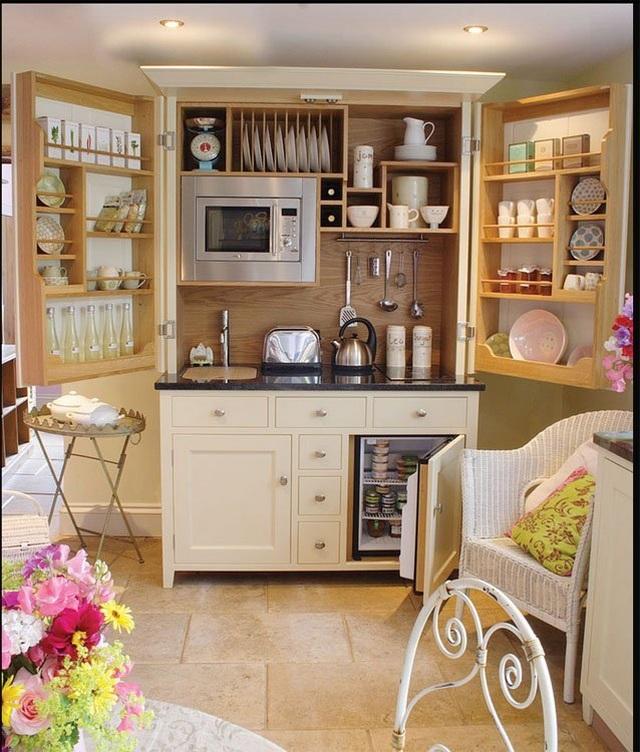 Tuyệt chiêu thiết kế ăn gian diện tích cho căn bếp nhỏ, ai cũng cần biết - 3