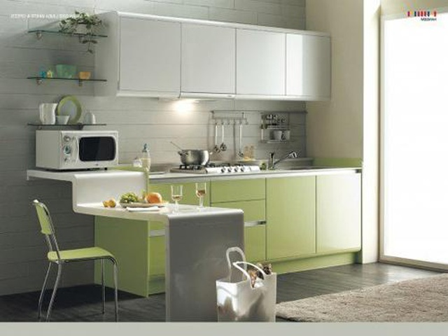 Tuyệt chiêu thiết kế ăn gian diện tích cho căn bếp nhỏ, ai cũng cần biết - 8