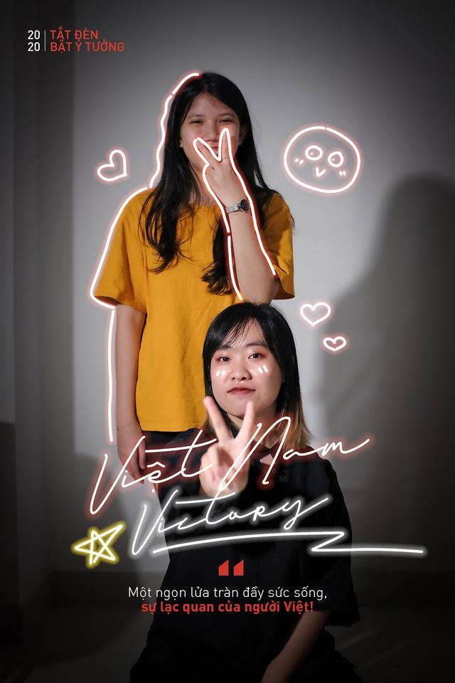 """Bạn trẻ truyền thông điệp """"Việt Nam chiến thắng"""" trong Giờ Trái đất khác lạ - 11"""