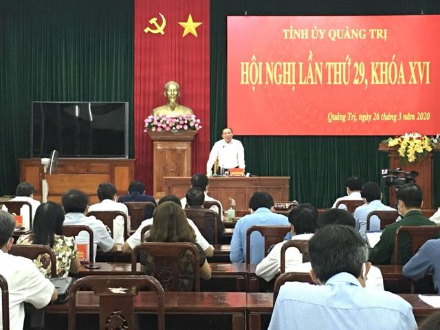 Quảng Trị tạm dừng đại hội Đảng các cấp trong 2 tuần - 1