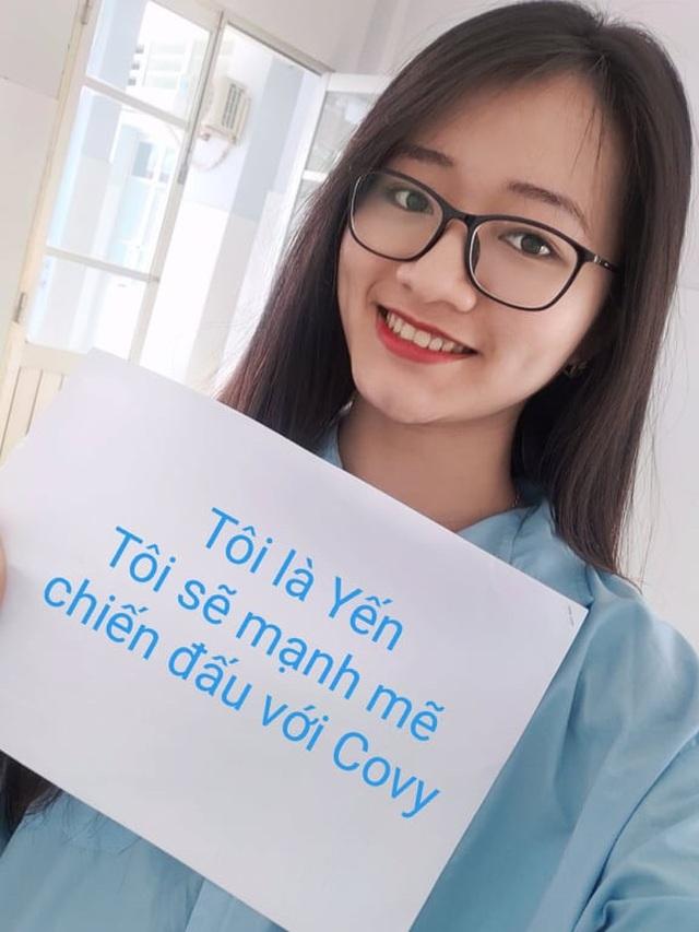 Nữ sinh mắc Covid-19 chia sẻ thông điệp tích cực phòng chống dịch bệnh - 1