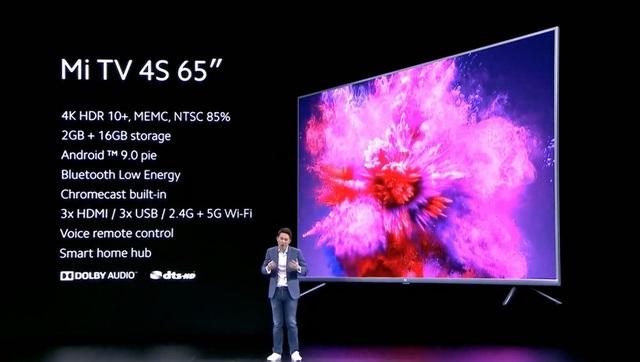 Xiaomi ra mắt Mi TV 4K 65, giá 14 triệu đồng - 1