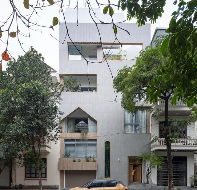 """Ngôi nhà nhiều mái vòm độc đáo, """"không nỡ rời mắt""""  ở Nam Định - 1"""
