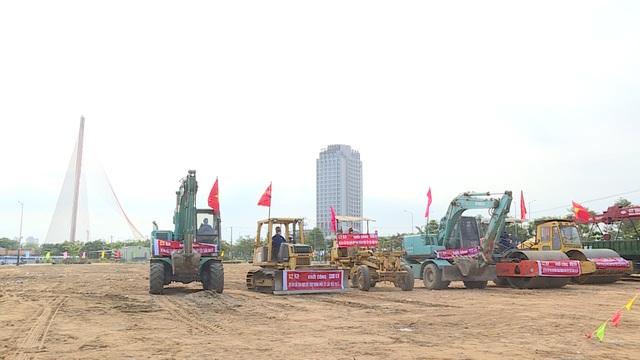 Đà Nẵng khởi công cải tạo nút giao thông phía tây cầu Trần Thị Lý - 3