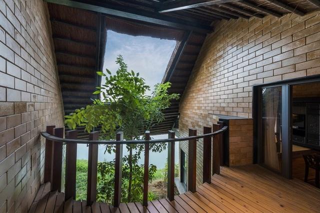 Ngôi nhà mái rạ của đại gia Hà Nội gây sốt trên báo Mỹ vì thiết kế độc lạ - 7