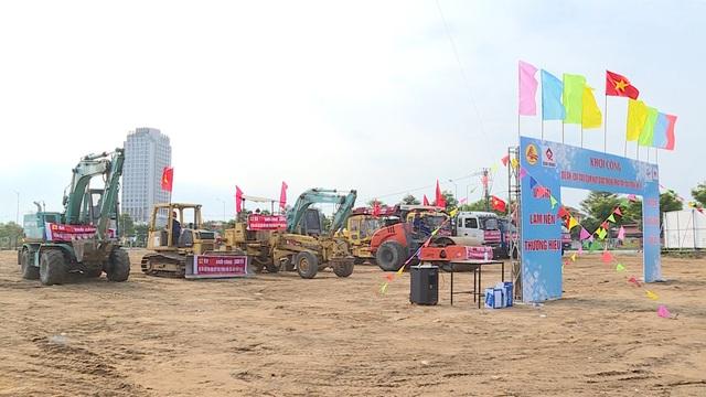 Đà Nẵng khởi công cải tạo nút giao thông phía tây cầu Trần Thị Lý - 2