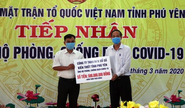Phú Yên: Nhiều cơ quan, đơn vị ủng hộ phòng chống dịch bệnh Covid-19 - 1