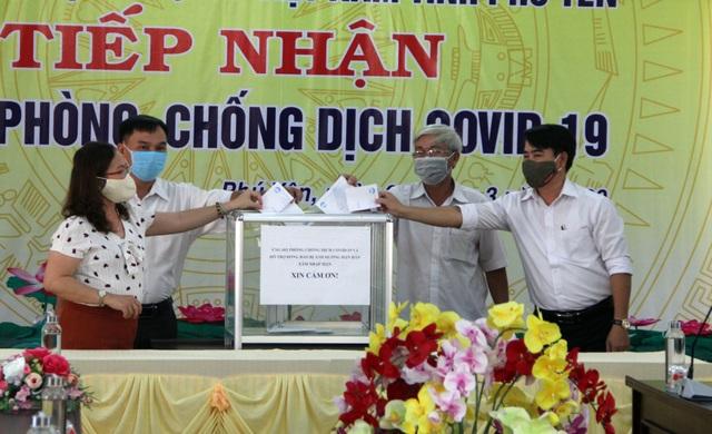 Phú Yên: Nhiều cơ quan, đơn vị ủng hộ phòng chống dịch bệnh Covid-19 - 2