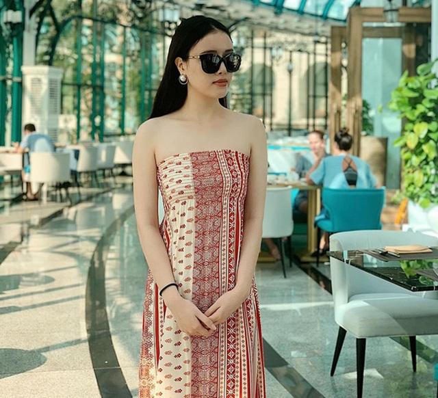 Em gái xinh đẹp, cao gần 1m80 của Hoa hậu Mai Phương Thúy - 8