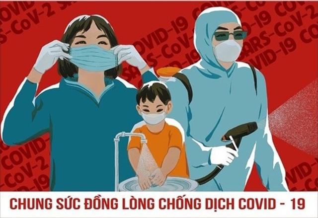 Ấn hành 14 mẫu tranh tuyên truyền cổ động chống dịch Covid-19 - 14
