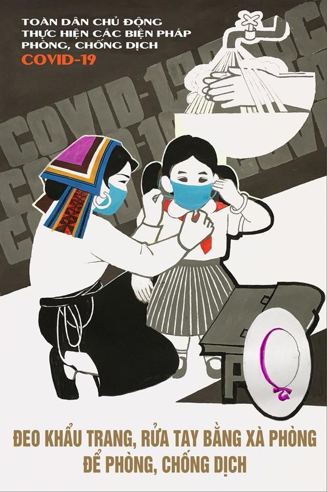 Ấn hành 14 mẫu tranh tuyên truyền cổ động chống dịch Covid-19 - 12