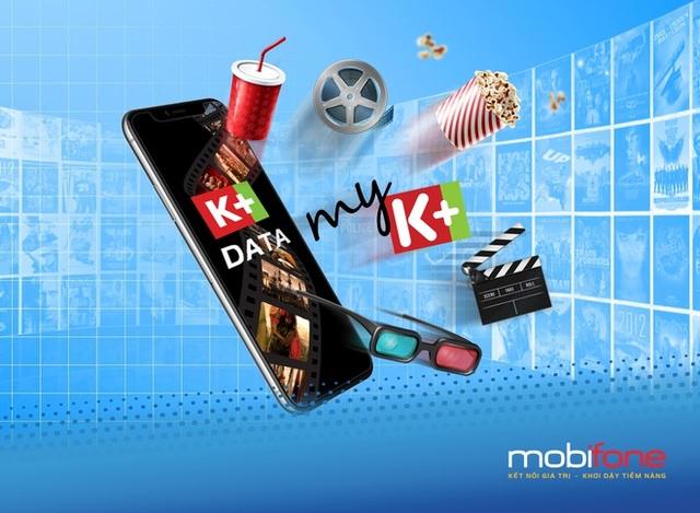 Giải trí với kho phim, video K+ Data của MobiFone - 1