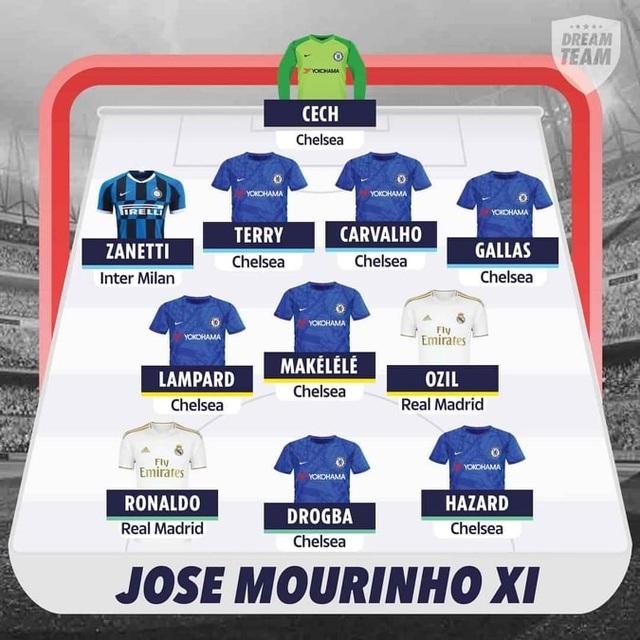 HLV Mourinho phát hiện ra đội hình học trò xuất sắc số 1 - 5