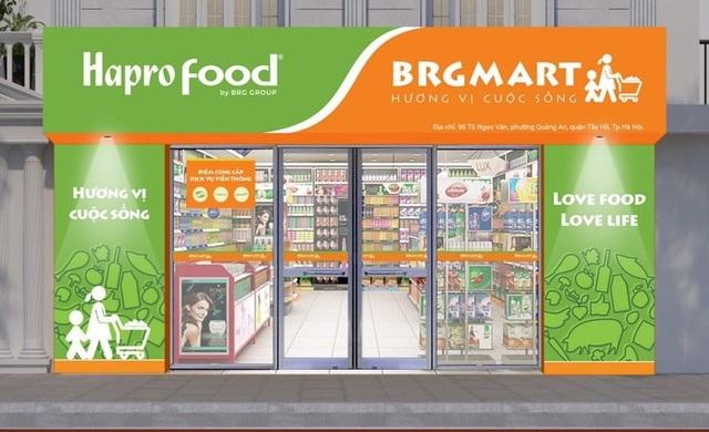 Tập đoàn BRG mở thêm 10 cửa hàng Hapro Food phục vụ nhân dân - 1