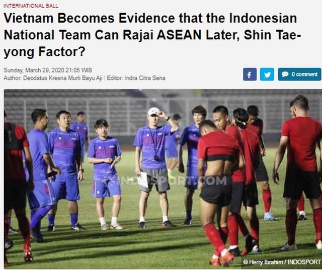 """Báo Indonesia: """"Bóng đá Việt Nam là tấm gương để học hỏi"""" - 1"""