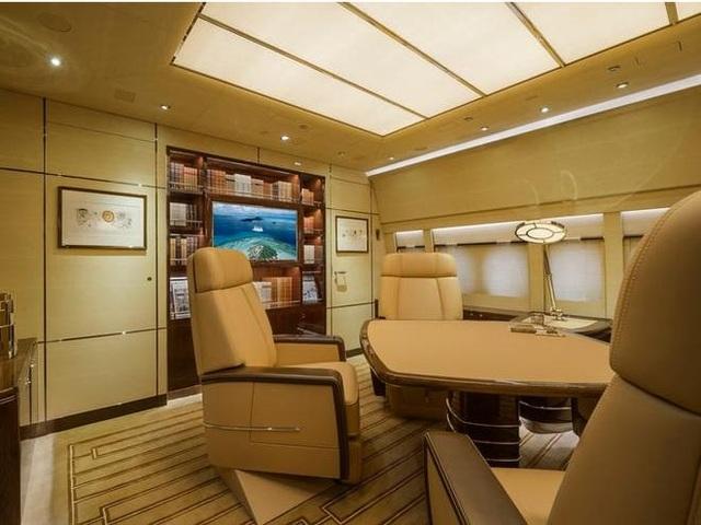 Khám phá nội thất xa xỉ bên trong chiếc máy bay tư nhân lớn nhất thế giới - 6
