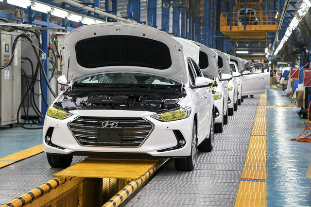 Nhà máy Hyundai tại Ninh Bình tạm dừng hoạt động vì dịch Covid-19 - 1