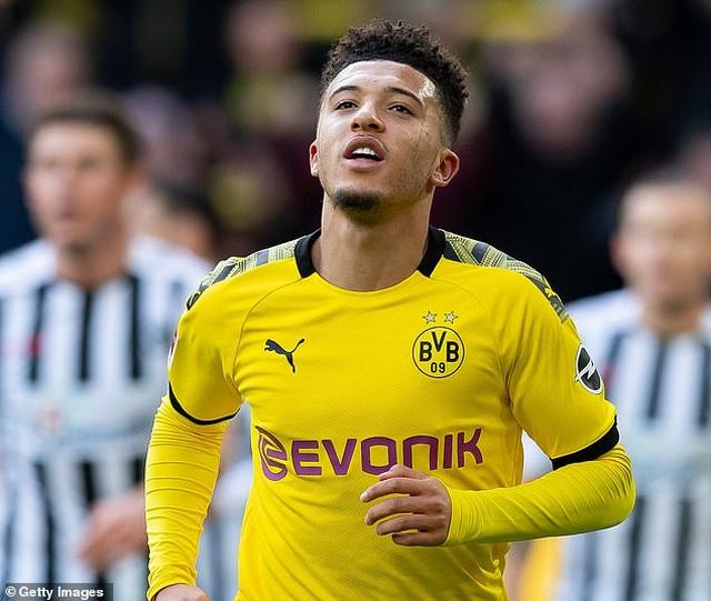 Jadon Sancho đưa ra điều kiện để gia nhập Man Utd