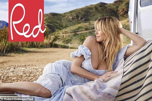 Heidi Klum: U50 vẫn đẹp gợi cảm - 1