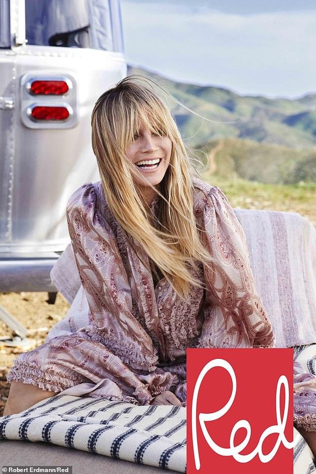 Heidi Klum: U50 vẫn đẹp gợi cảm - 4