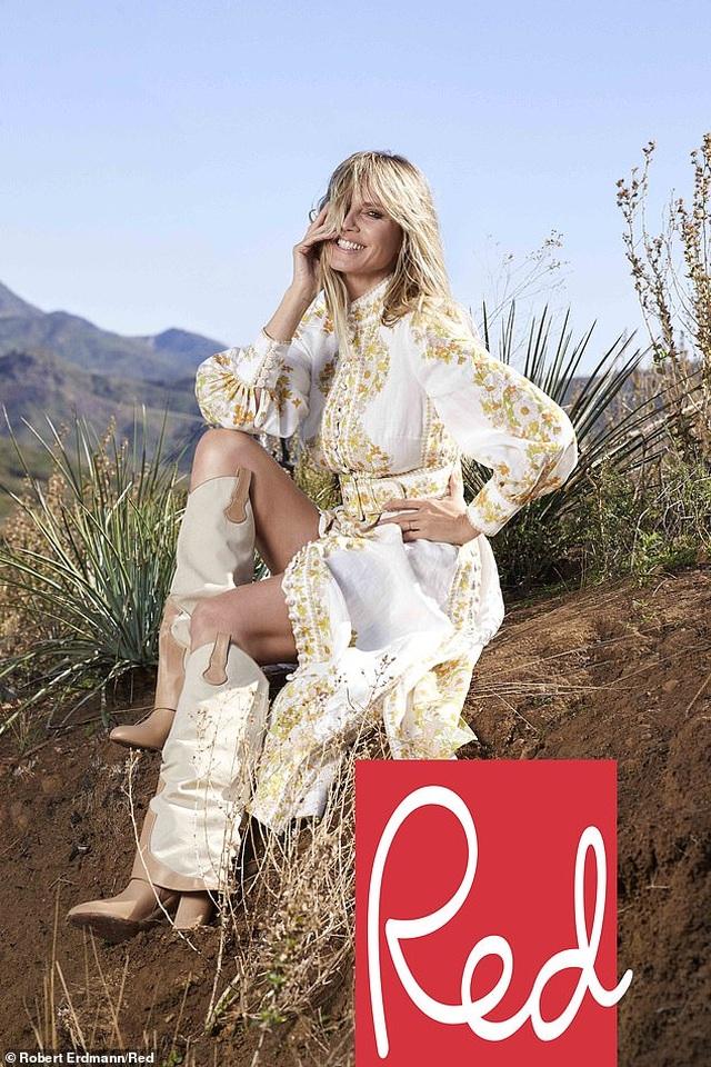 Heidi Klum: U50 vẫn đẹp gợi cảm - 3