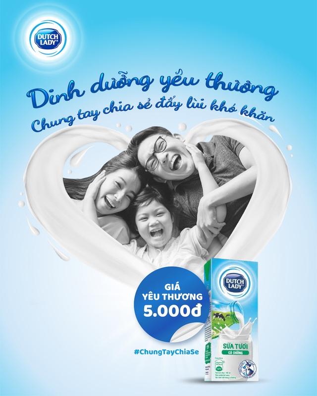 Cô gái Hà Lan mang sữa yêu thương, chung tay chia sẻ với người tiêu dùng vượt Covid - 19 - 1