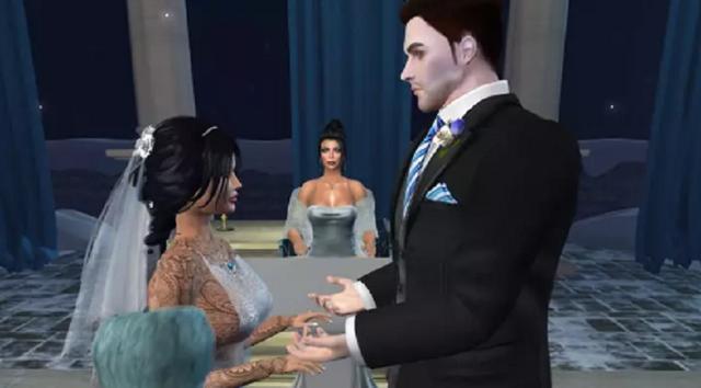 Ly hôn với chồng ngoài đời để kết hôn với chồng trong game - 1