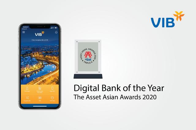 VIB lần thứ tư liên tiếp nhận giải thưởng về Ngân hàng số đến từ The Asset - 1