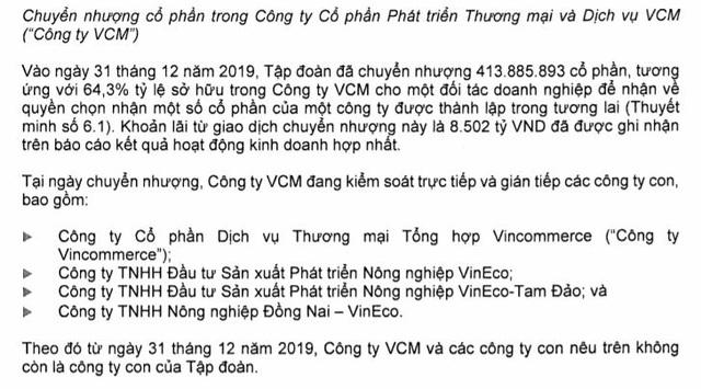 Ông Phạm Nhật Vượng lãi lớn từ thương vụ bán Vinmart cho Masan - 2