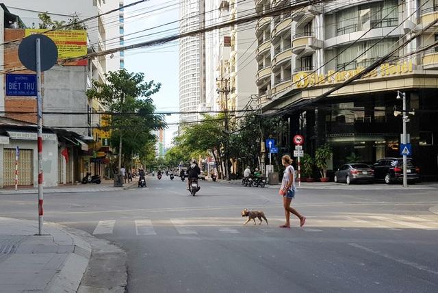 Nha Trang: Du khách đeo khẩu trang khi ra đường, phố Tây vắng vẻ - 9