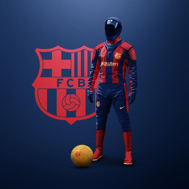 Bộ trang phục đặc biệt cho cầu thủ bóng đá mùa dịch Covid-19 - 2