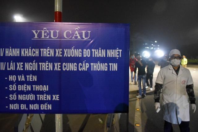 Trắng đêm đo thân nhiệt tại cửa ngõ Phú Thọ tiếp giáp Hà Nội - 3