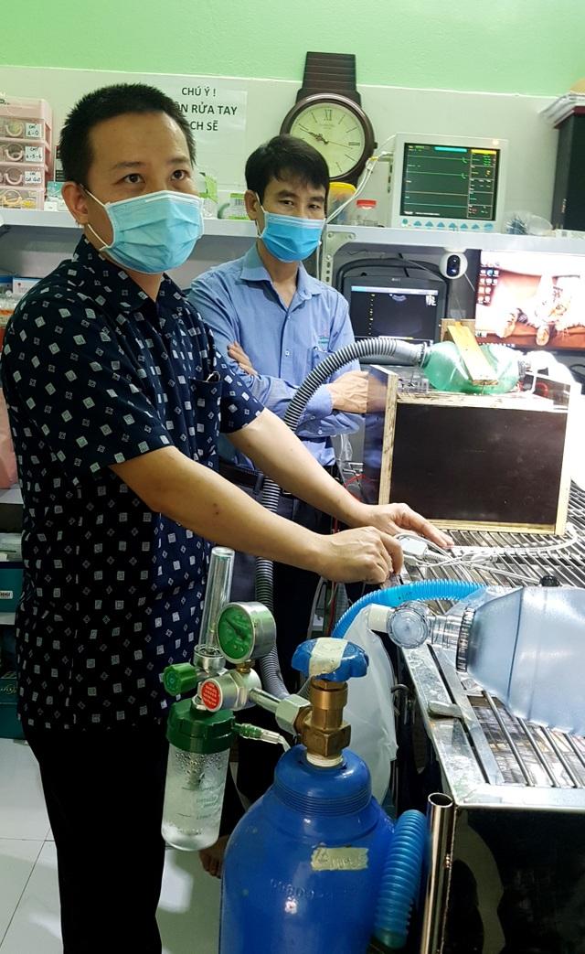 Thử nghiệm loại máy trợ thở khẩn cấp có thể dùng cho bệnh nhân Covid-19 - 6