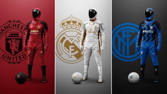 Bộ trang phục đặc biệt cho cầu thủ bóng đá mùa dịch Covid-19 - 1