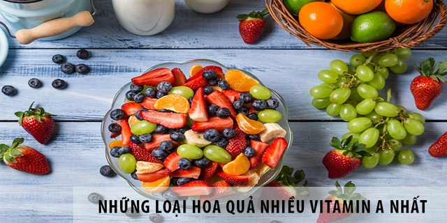 Tầm quan trọng của vitamin A với sự phát triển của cơ thể - 4